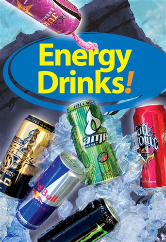 "Waste Container Insert- ""Energy Drinks"""