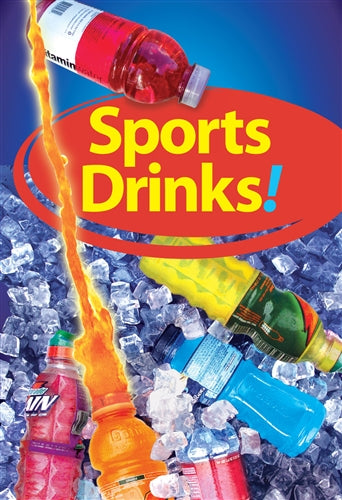 "Waste Container Insert- ""Sports Drinks"""