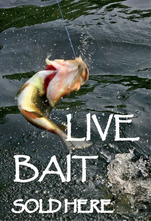 "Waste Container Insert- ""Live Bait"""