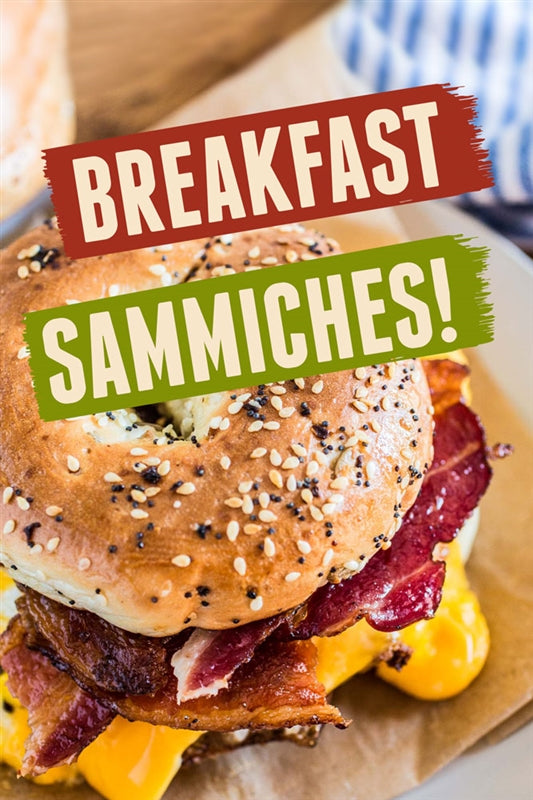 Breakfast Sammiches- Waste Container Insert