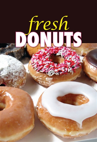 "Waste Container Insert- ""fresh DONUTS"""