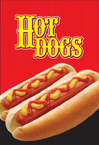 "Waste Container Insert- ""Hot Dogs"""