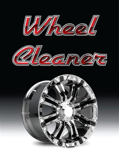 "Wheel Cleaner- 22""w x 28""h 4mm Coroplast Insert"