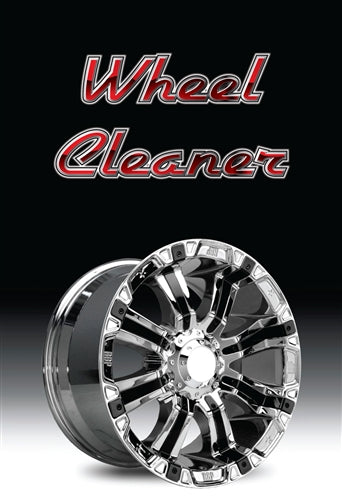 "Wheel Cleaner- 24""w x 36""h 4mm Coroplast Insert"