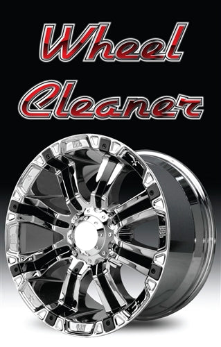 "Wheel Cleaner- 28"" x 44"" .020 Styrene Insert"
