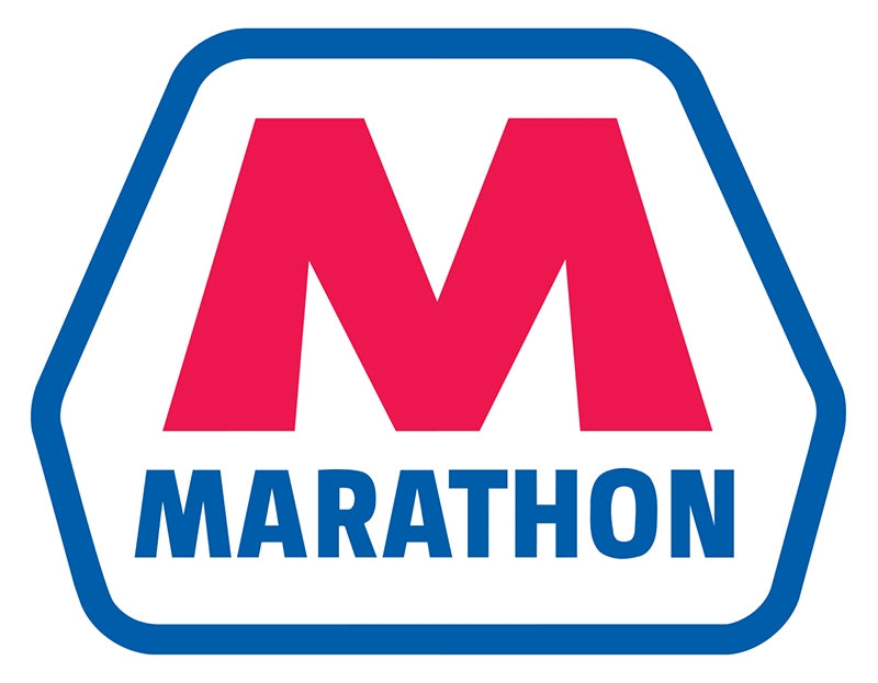 "Die-Cut Decal- ""Marathon"" Logo"