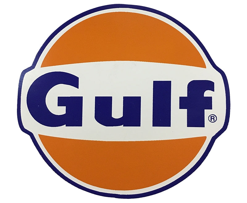 "Die-Cut Decal- ""Gulf"""