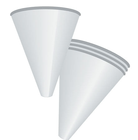 Wax Coated Disposable Funnels 1,000 per Case