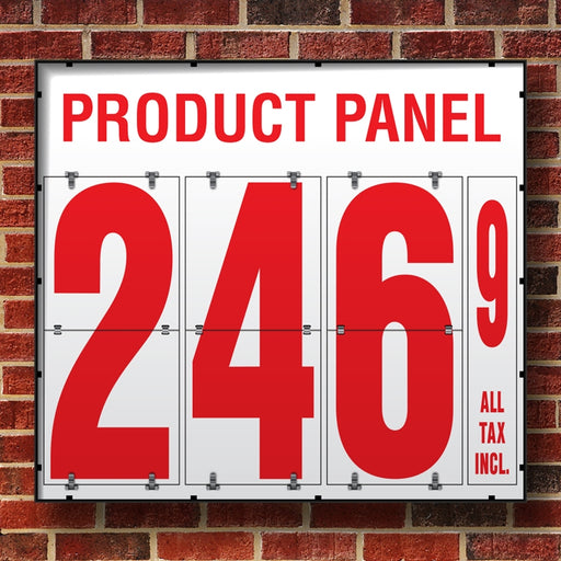 "24"" Flip Numbers- Single-Product, Wall or Pole Mount"
