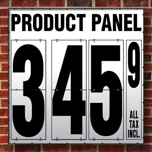 "40"" Flip Numbers- Single-Product, Wall or Pole Mount"