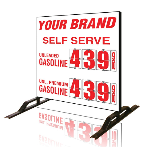 Two Product Flip All Double Sided Sign