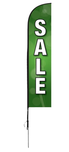 """Sale"" Flag- Blade Style"