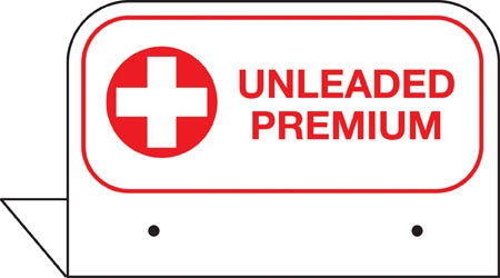"Aluminum FPI Tags- ""Premium Unleaded"""