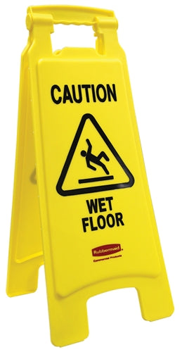 "Floor Sign- ""Caution Wet Floor"""
