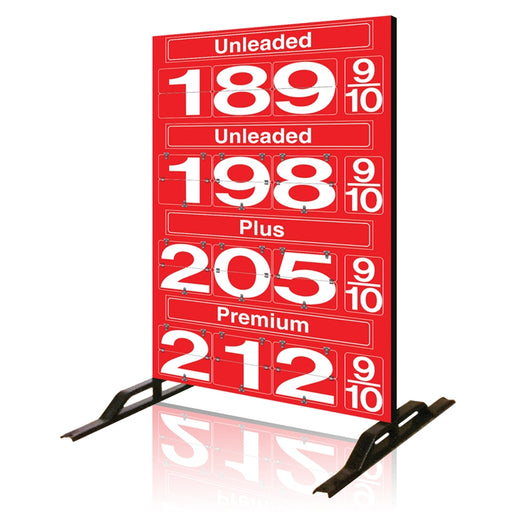 Four Product Fuel Price Sign
