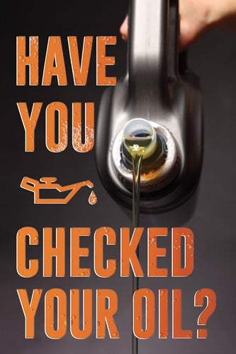 Check Your Oil Aluminum