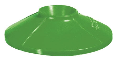 "Splatter Shield- Green Fits 3/4"" - 1"" Nozzles"