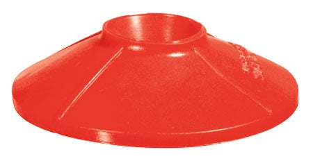 "Red Splatter Shield- Fits 3/4"" - 1"" Nozzles"