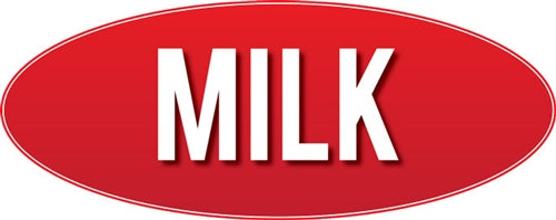 "Milk Store Sign 9""w x 23""h"