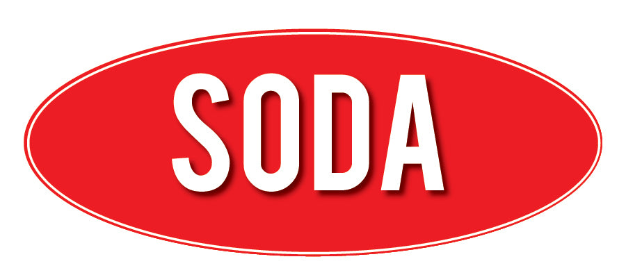 Soda Store Sign Red