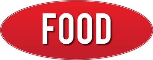 "Food Store Sign 9""w x 23""h"