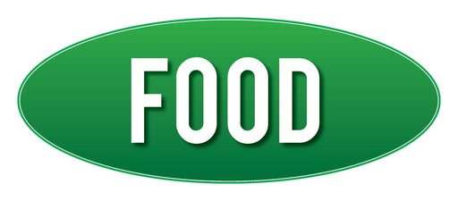Food Store Sign Green