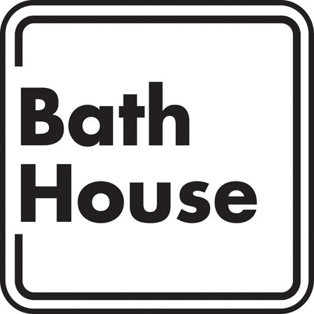 "Aluminum Sign ""Bath House"""