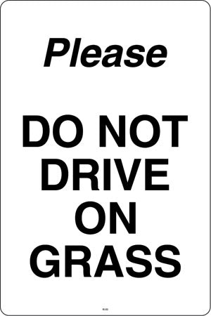 Don't Drive on Grass
