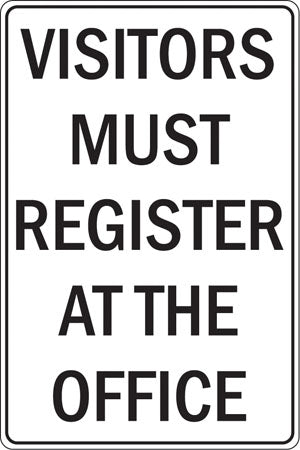 Visitors Register