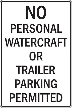No Personal Watercraft