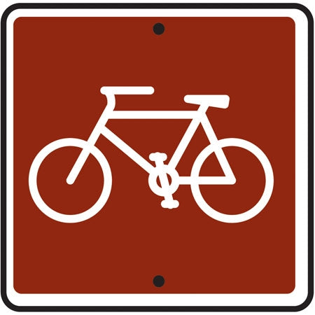 Reflective Sign - (Bicycle) Symbol