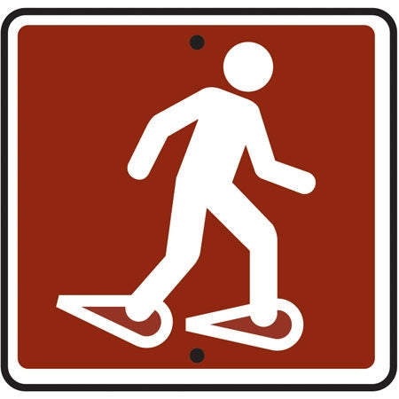 Reflective Sign (Snowshoe) Symbol