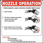 Nozzle Operation Instructions