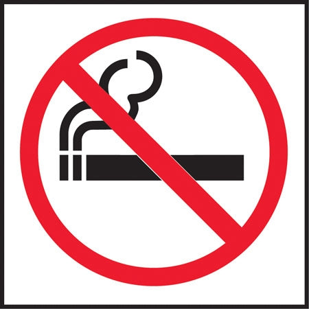 Decal- No Smoking Symbol