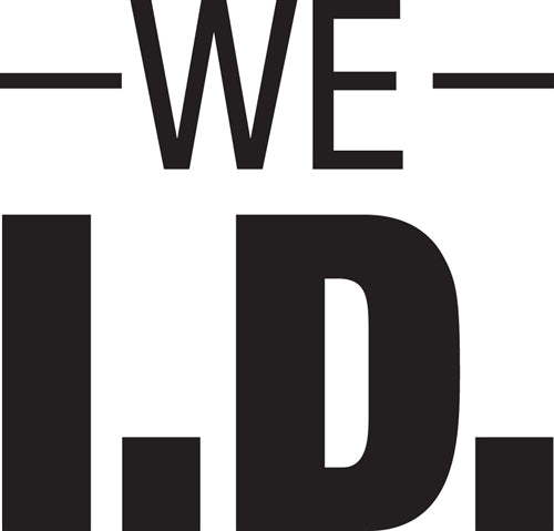 "We I.D.- 6""w x 6""h Decal"