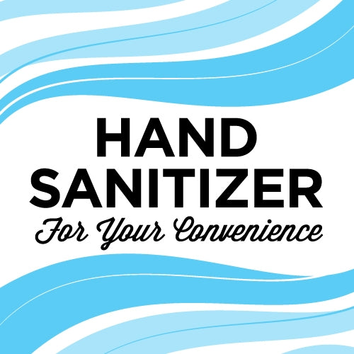 "Freshen Up!- 3""w x 3""h Sanitizer Decal"