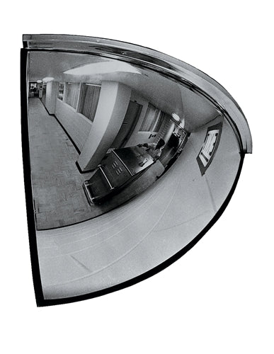 "26"" Quarter Dome Indoor Security Mirror"