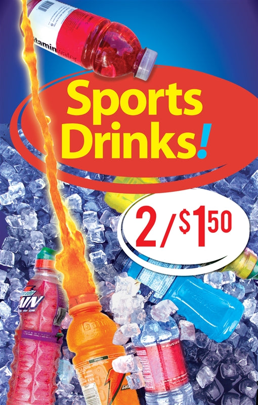 Sports drinks price inserts