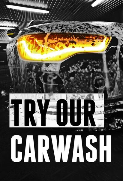 "Try Our Car Wash- 24""w x 36""h 4mm Coroplast Insert"
