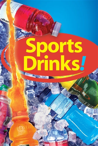 "Reusable Static Cling- ""Sports Drinks"""