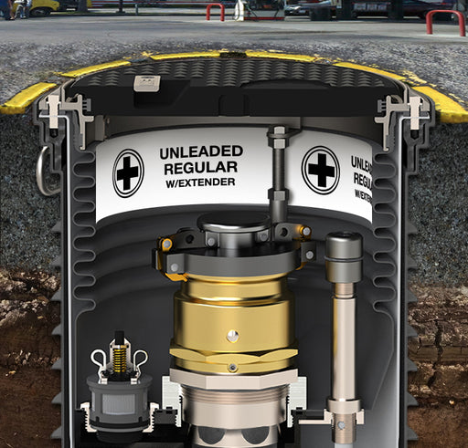 "Storage Tank Collar- ""Unleaded Regular With Extender"""