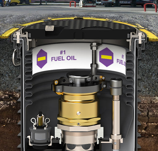 "Storage Tank Collar- ""#1 Fuel Oil"""