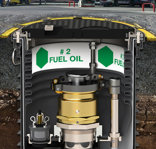 "Storage Tank Collar- ""#2 Fuel Oil"""