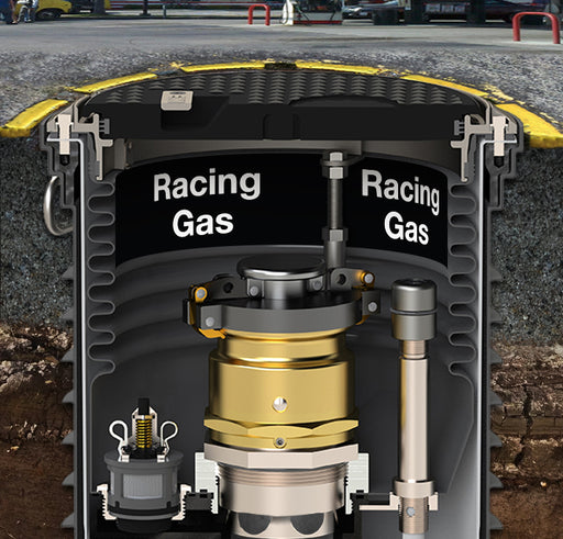 "Storage Tank Collar- ""Racing Gas"""