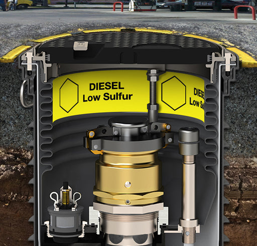 "Storage Tank Collar- ""Diesel Low Sulfur"""