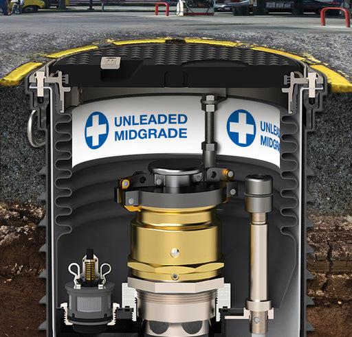 "Storage Tank Collar- ""Unleaded Midgrade"""