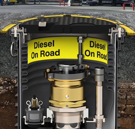 "Storage Tank Collar- ""Diesel On Road"""