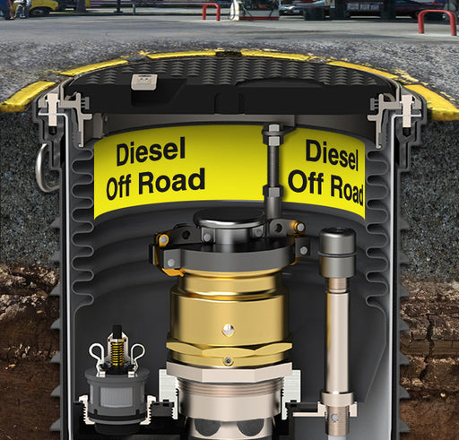 "Storage Tank Collar- ""Diesel Off Road"""