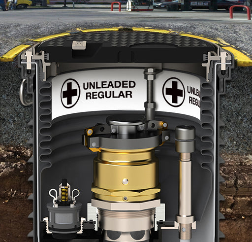 "Storage Tank Collar- ""Unleaded Regular"""