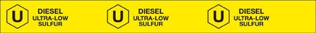 "Storage Tank Collar- ""Diesel Ultra Low Sulfur"""